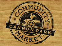 Cannon Park Community Market mock-up