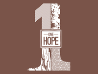 One hope silkscreen