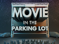 Movie Parking in the Lot (zoomed out)