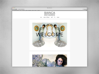 Bianca Richards portfolio website