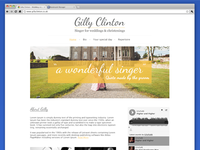 Gilly Clinton Website Design