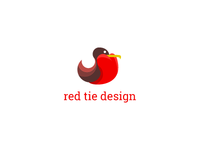 the red tie design