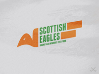 "Ayr ""Scottish Eagles"" Grand Slam Winners Logo"