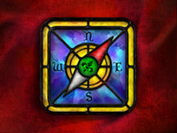 Stained Glass Safari Icon
