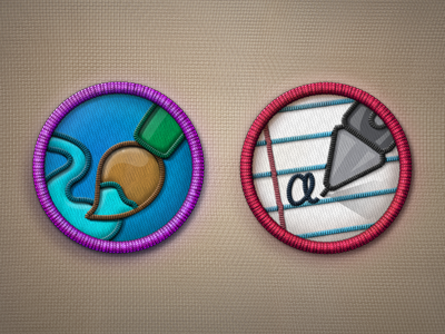 Download Merit Badges PSD – Part 2