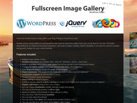 jQuery Fullscreen Image Gallery WordPress Plugin