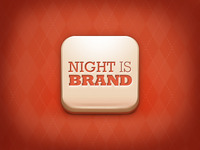 Night is Brand, app icon