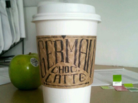 German Chocolate Cake Latte