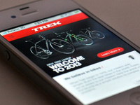 Trek Bicycles mobile site