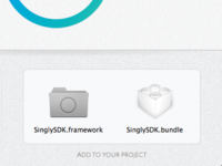 Disk Image for Singly iOS SDK