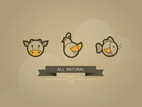 All Natural Icons