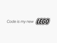 Code is my new LEGO