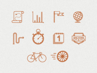 Pictogram Drafts for App