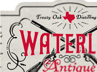 Waterloo Antique Label - in progress