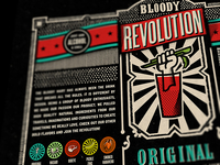 Bloody Revolution Label concept