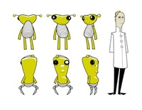 "Further Character Designs from ""Brash"""