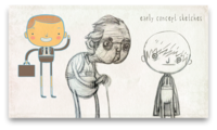 TAAFI 2012 Sponsorship Film - Early Concept Sketches