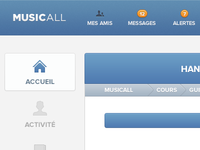 Music-all redesign #2
