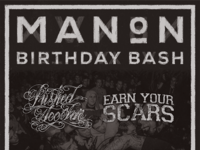 Manon Birthday Bash Poster