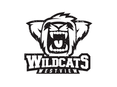 Wildcat Claw Logo http://dribbble.com/shots/416438-Wildcat-Logo-Design