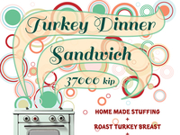 Turkey Dinner Sandwich