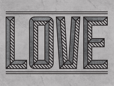 Love-typography-dribbble