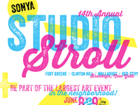 14th Annual SONYA Studio Stroll (Call for Artists)