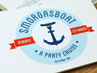 Smorgasboat Postcard