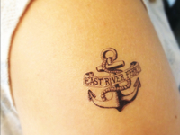 East River Ferry Tattoo