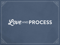 Love and Process Logo