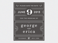 George & Erica Save The Date 1
