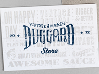Duggard Post Cards