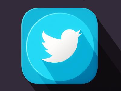 Twitterlongshadow