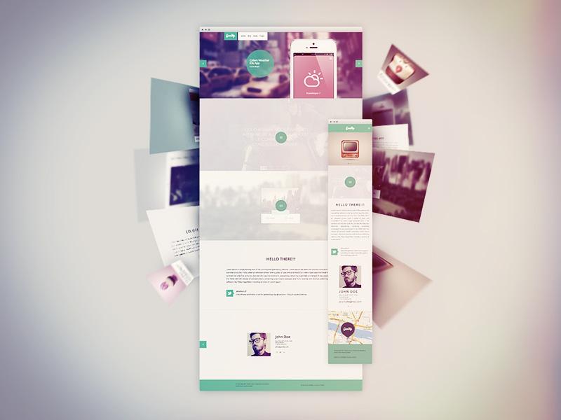 Goodly Portfolio . FREE WP Responsive Theme